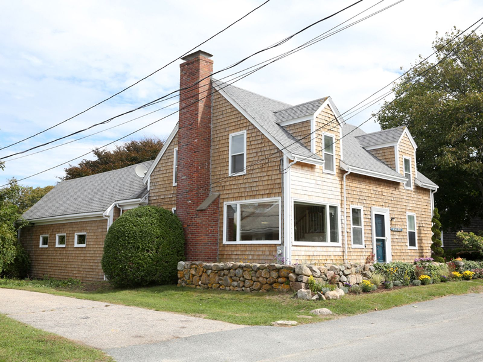 Classic Expanded Cape with Views, Woods Hole MA Single Family Home - Cape Cod Real Estate