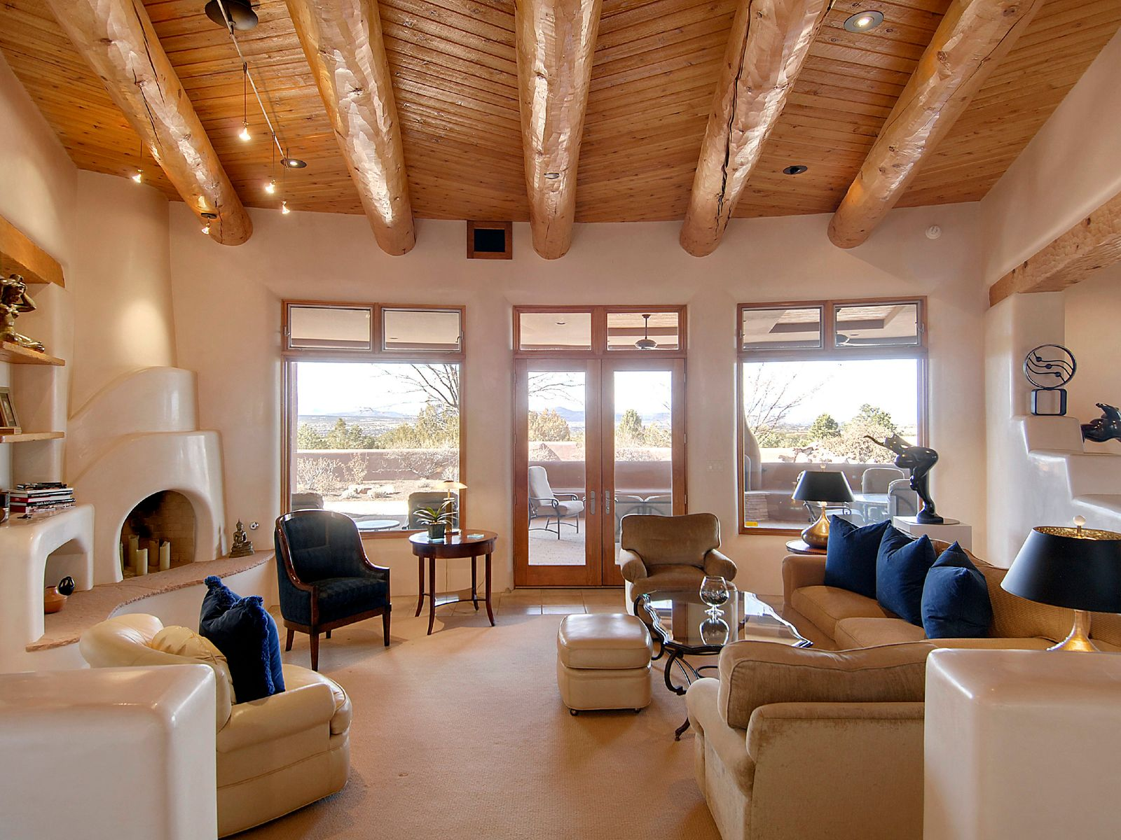 133 Calle Ventoso West, Santa Fe NM Single Family Home - Santa Fe Real Estate