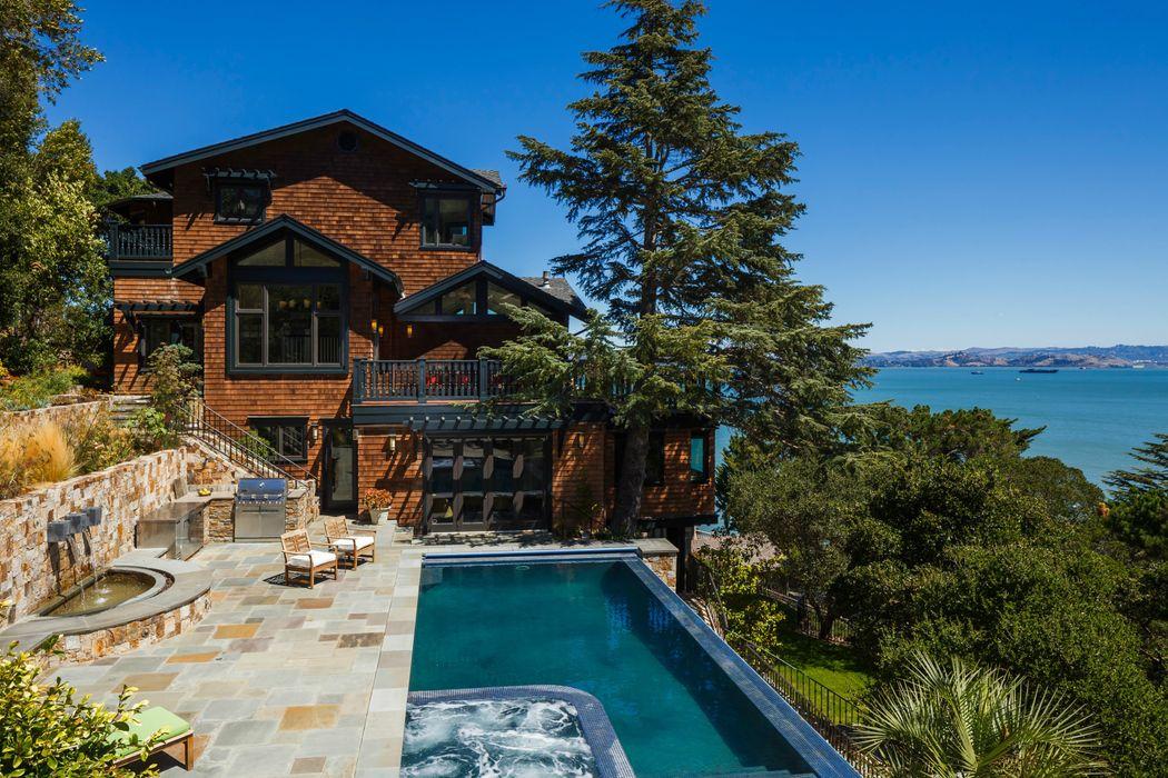 Paradise Cove Residence Tiburon CA Sothebys International - Tiburon pool table