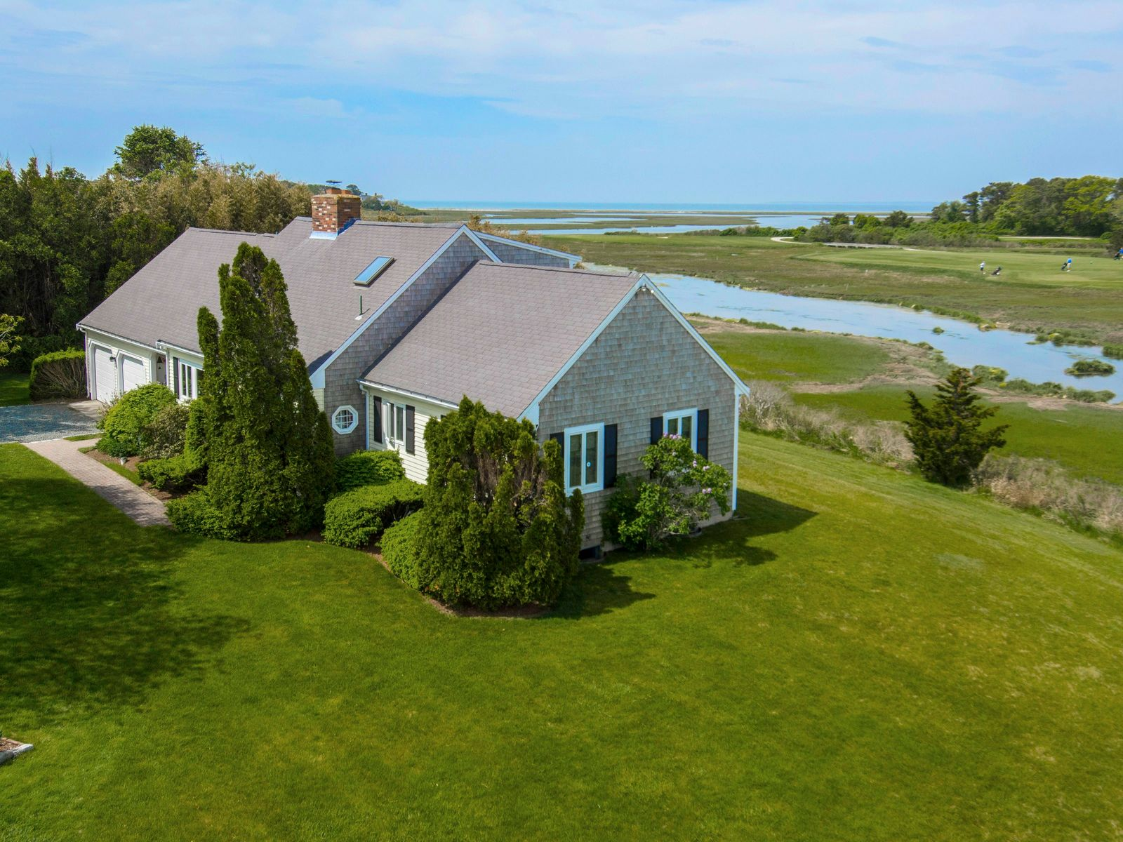 Spectacular Water and Golf Views, Hyannis Port MA Single Family Home - Cape Cod Real Estate