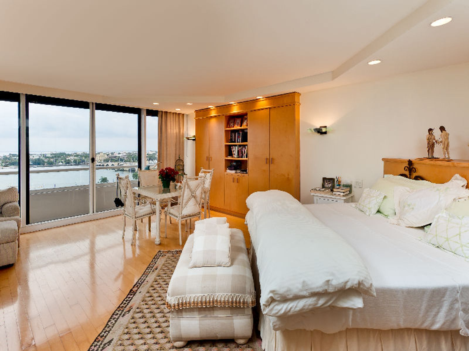 Waterfront Master Bedroom