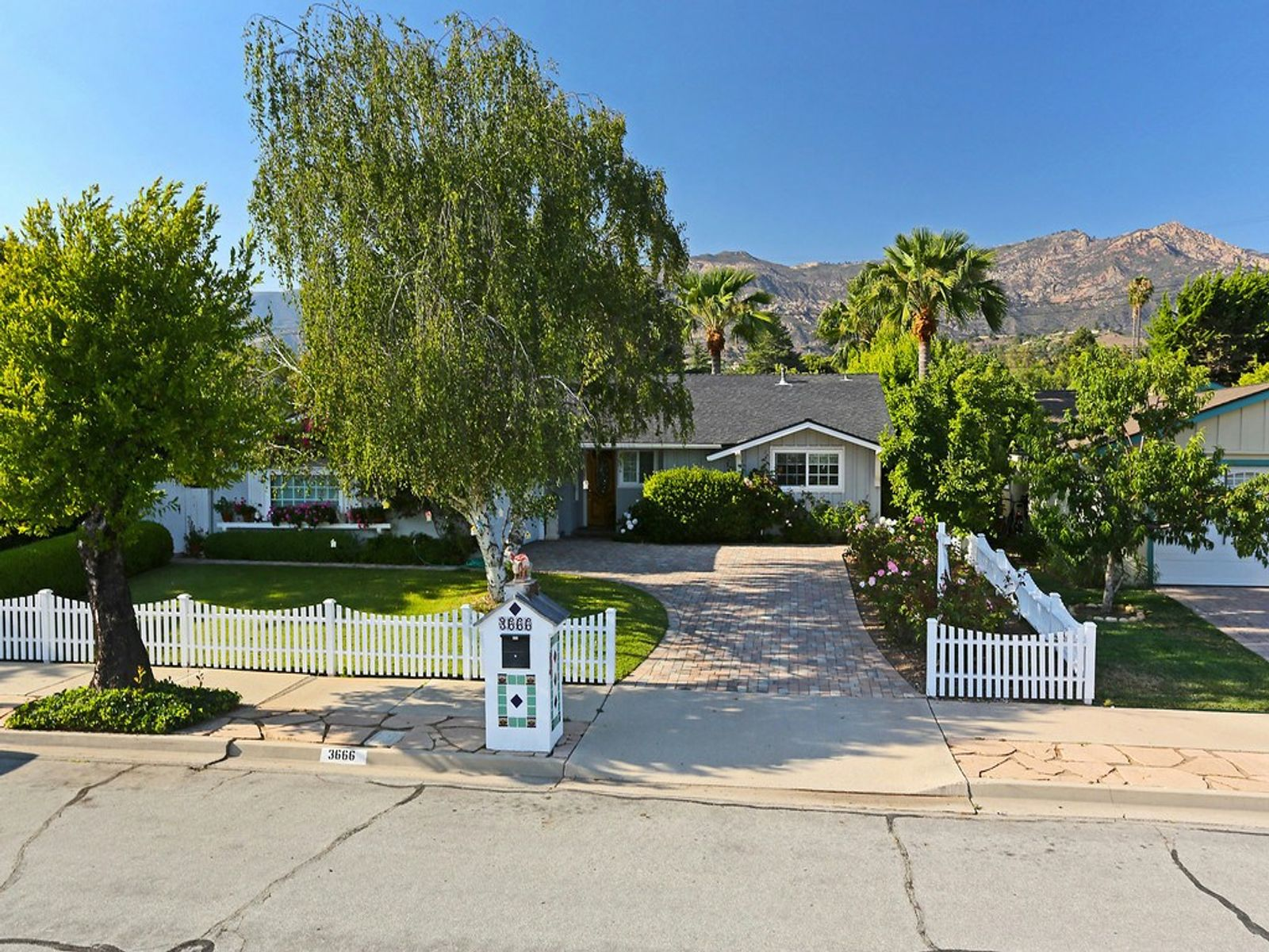 Charming San Roque Cottage, Santa Barbara CA Single Family Home - Santa Barbara Real Estate