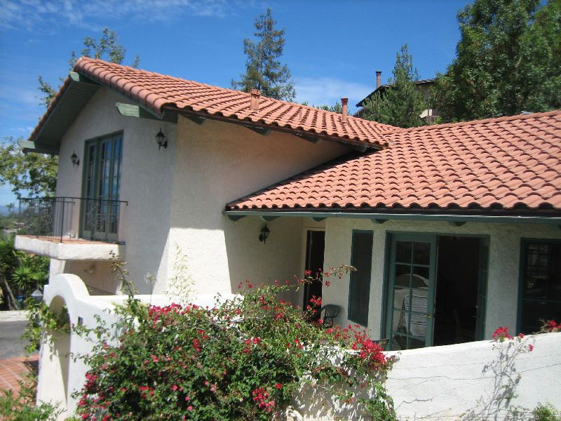 Spanish Red Tile Roof Home