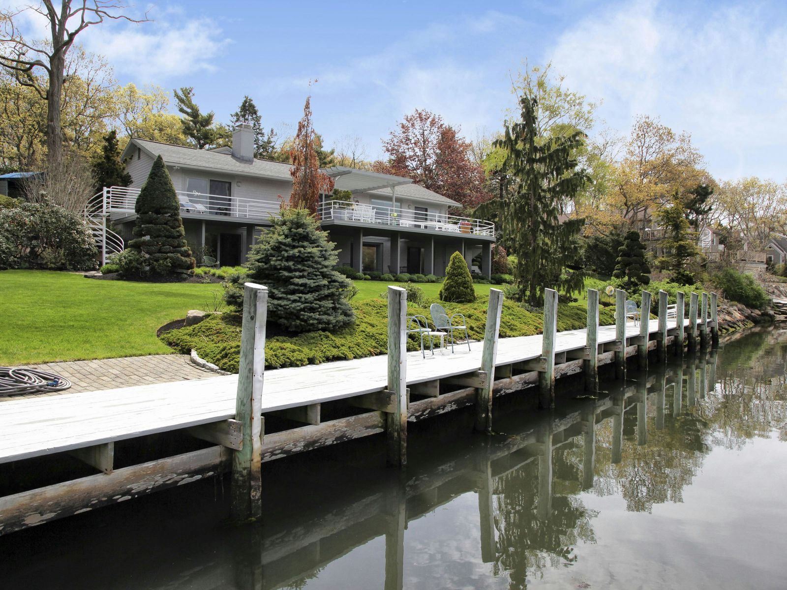 Waterfront with Dock in Falmouth, Falmouth MA Single Family Home - Cape Cod Real Estate