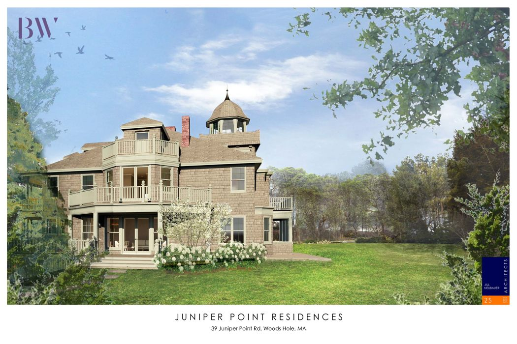 39 Juniper Point West Residence Woods Hole, MA 02543