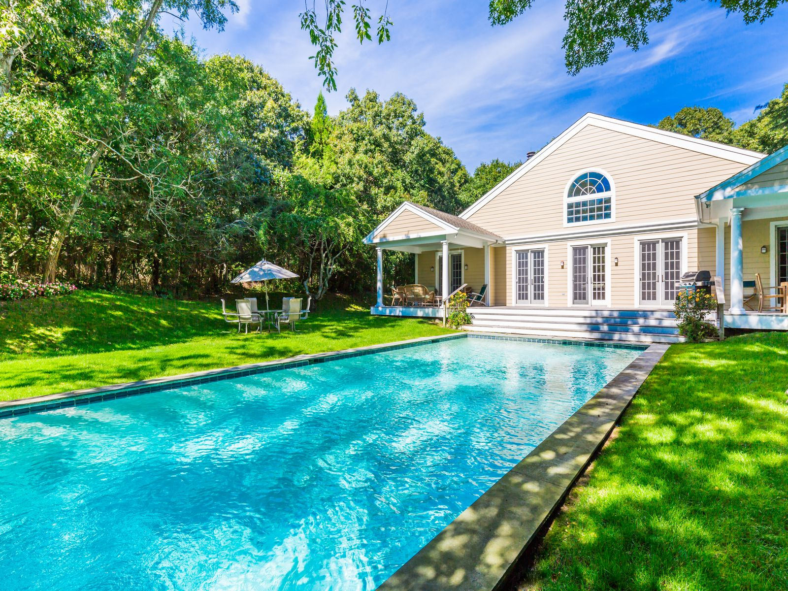 Perfect Post Modern on 2 Acres , Water Mill NY Single Family Home - Hamptons Real Estate