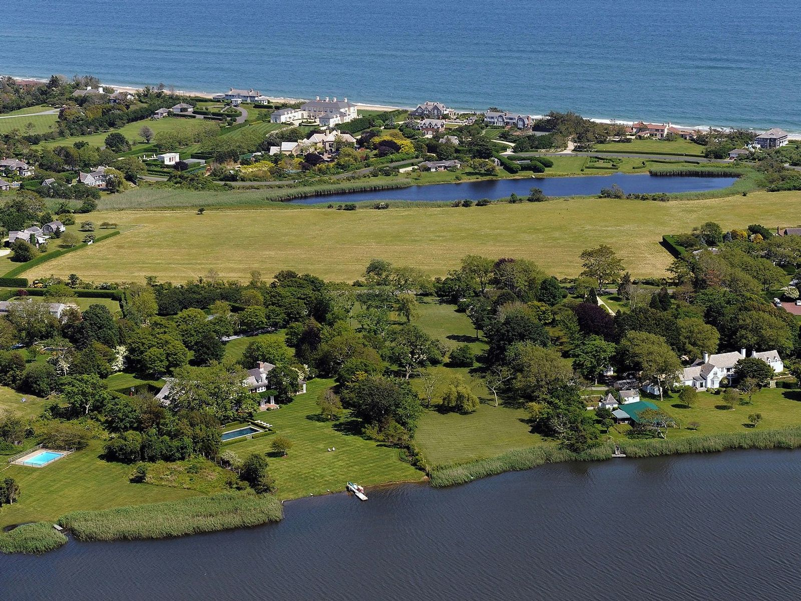 Georgica Pondfront, East Hampton NY Acreage / Lots - Hamptons Real Estate