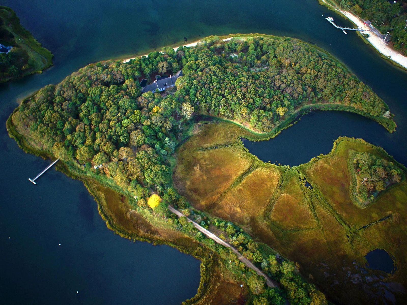 Private Ten-Acre Island Estate, Osterville MA Single Family Home - Cape Cod Real Estate