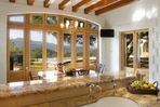 Panoramic Napa Valley Views through French doors.