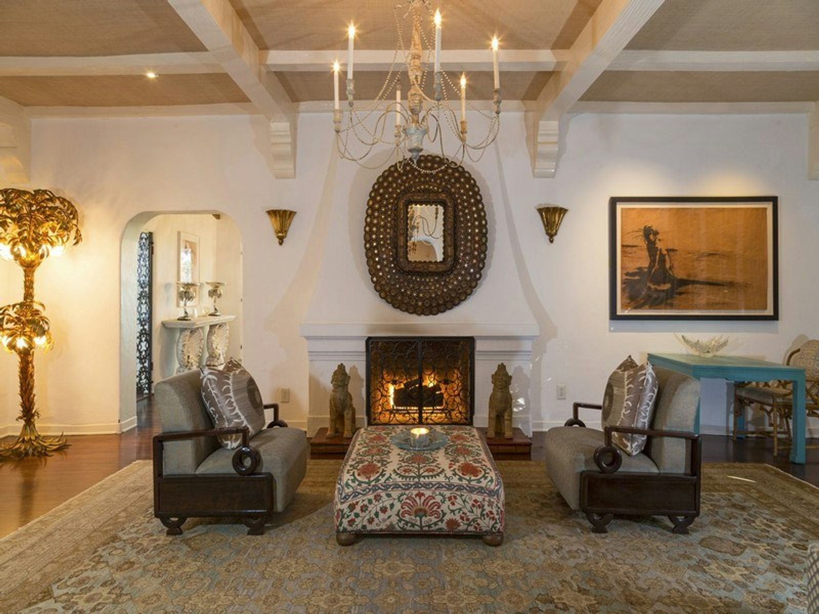 Romantic 1930s Spanish Home