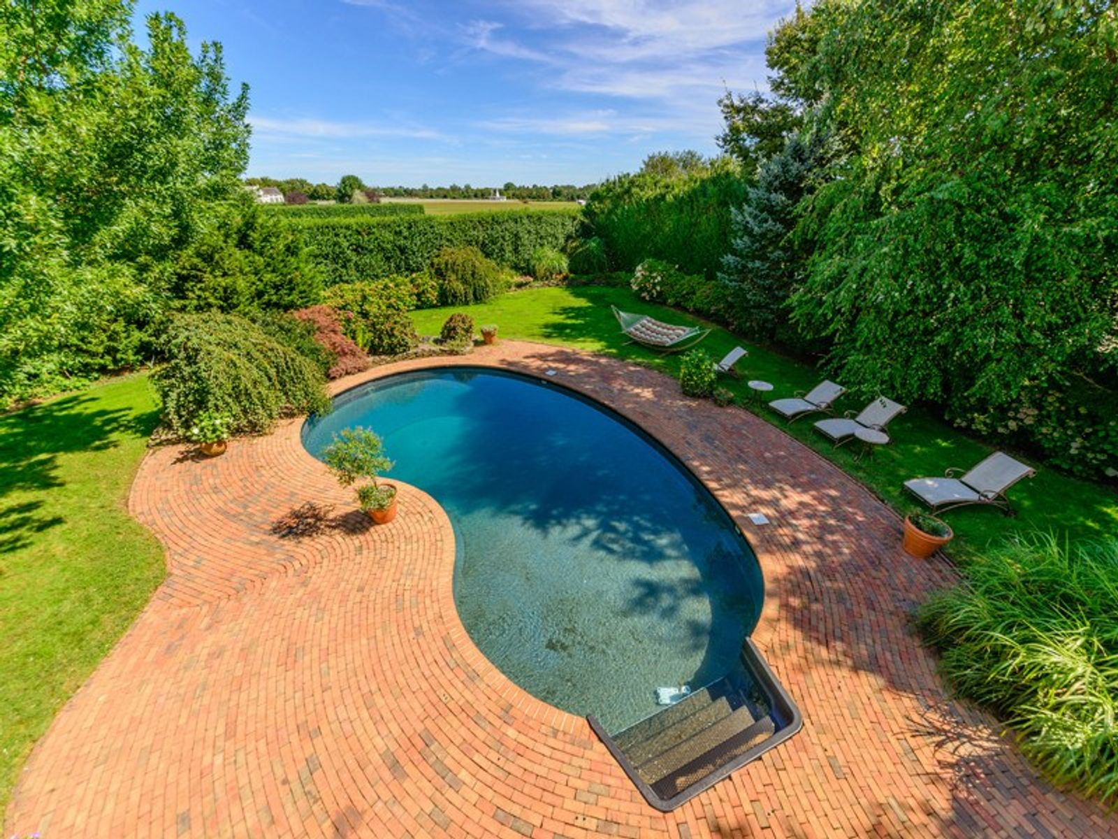 Water Mill South Traditional with Pool