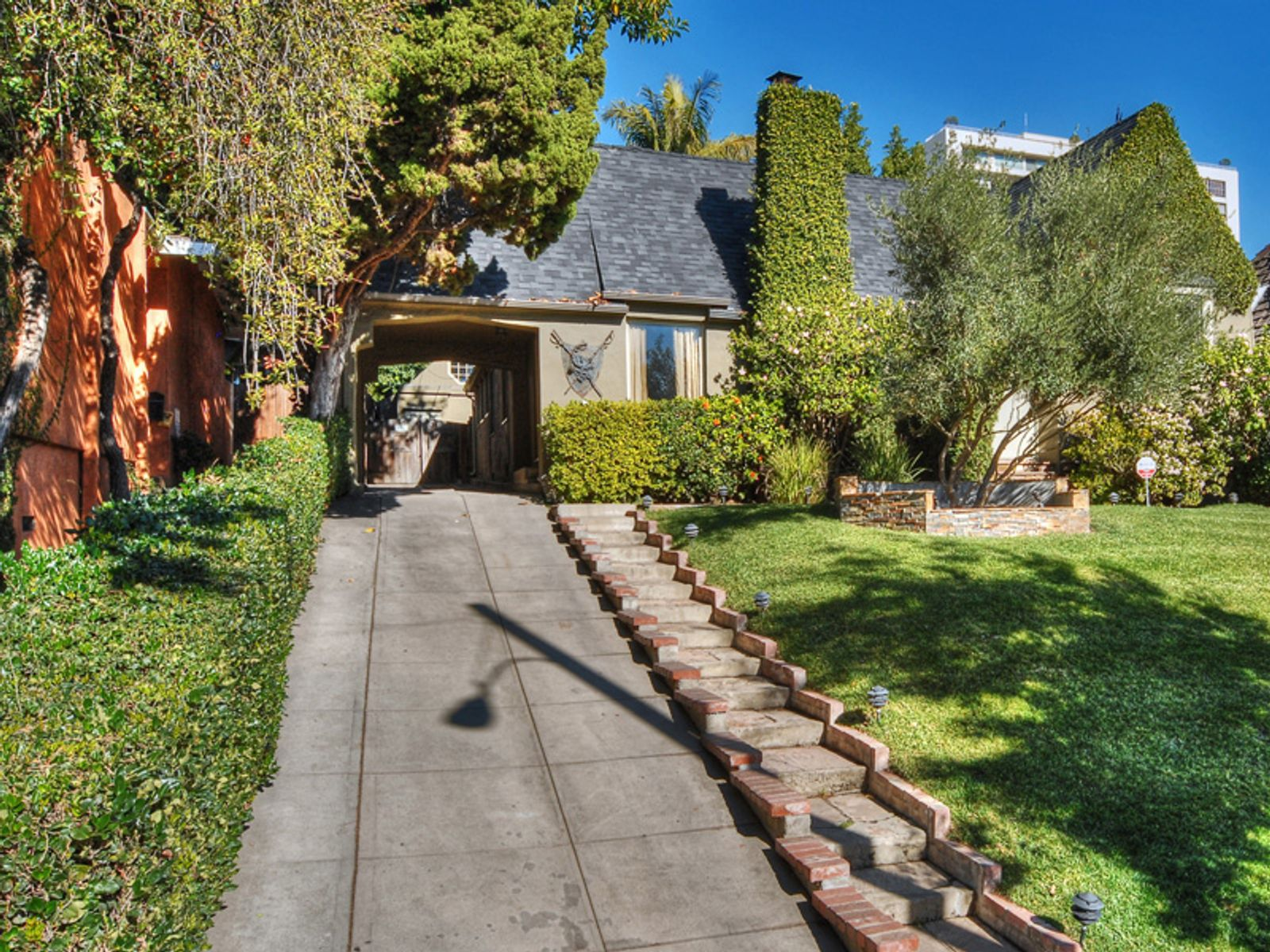 Graceful Tudor-Style Home, West Hollywood CA Single Family Home - Los Angeles Real Estate