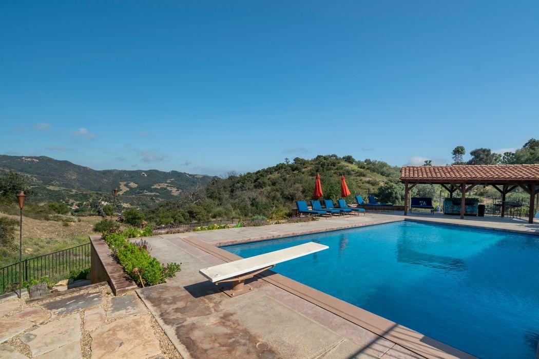 Topanga Estate with Pool on 15 Acres Topanga, CA 90290