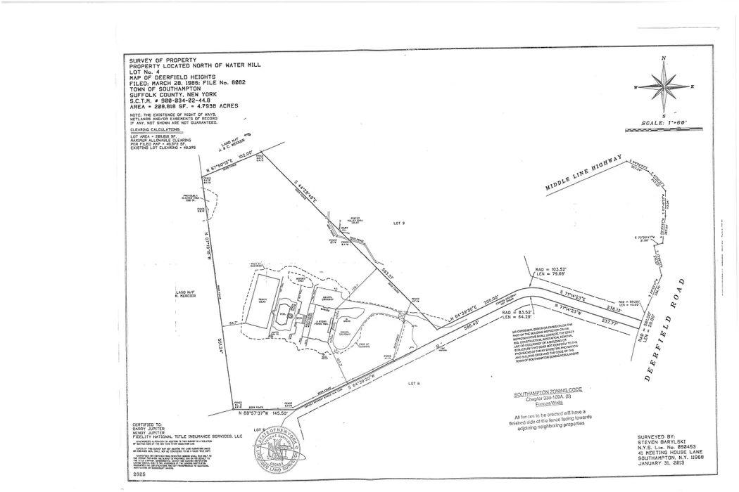 1870 Deerfield Road Water Mill, NY 11976