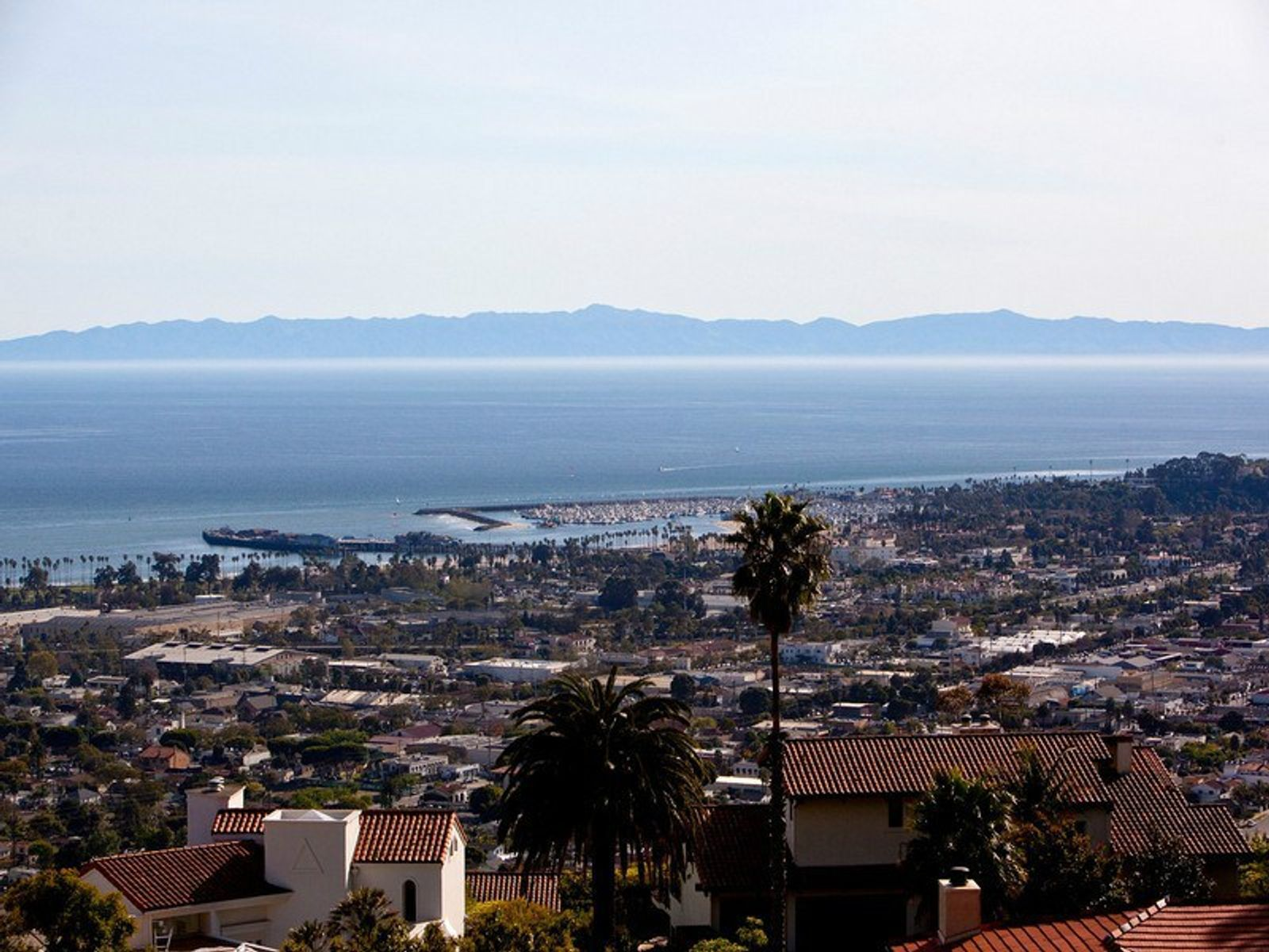 Coastline, Ocean and Harbor Views, Santa Barbara CA Single Family Home - Santa Barbara Real Estate
