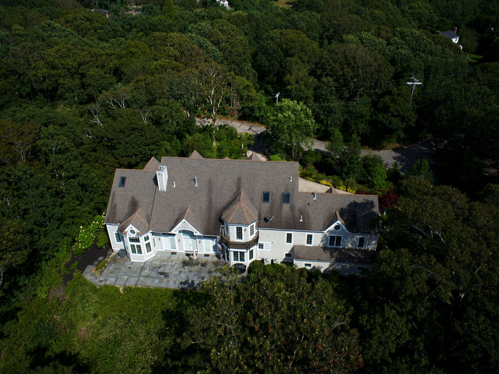 Gracious Home with Commanding Ocean View, Falmouth MA Single Family Home - Cape Cod Real Estate