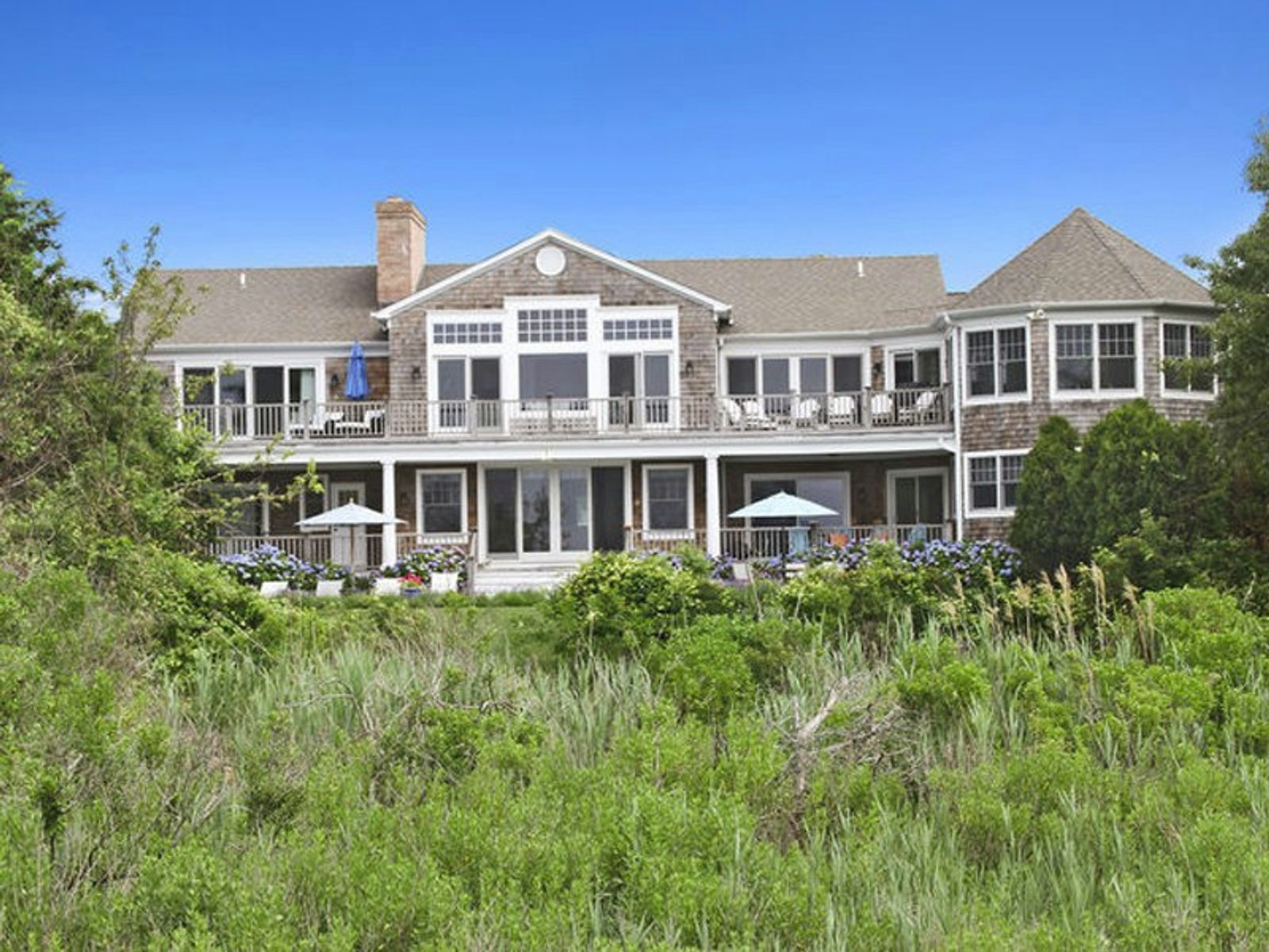 Waterfront Gambrel with Pool & Tennis