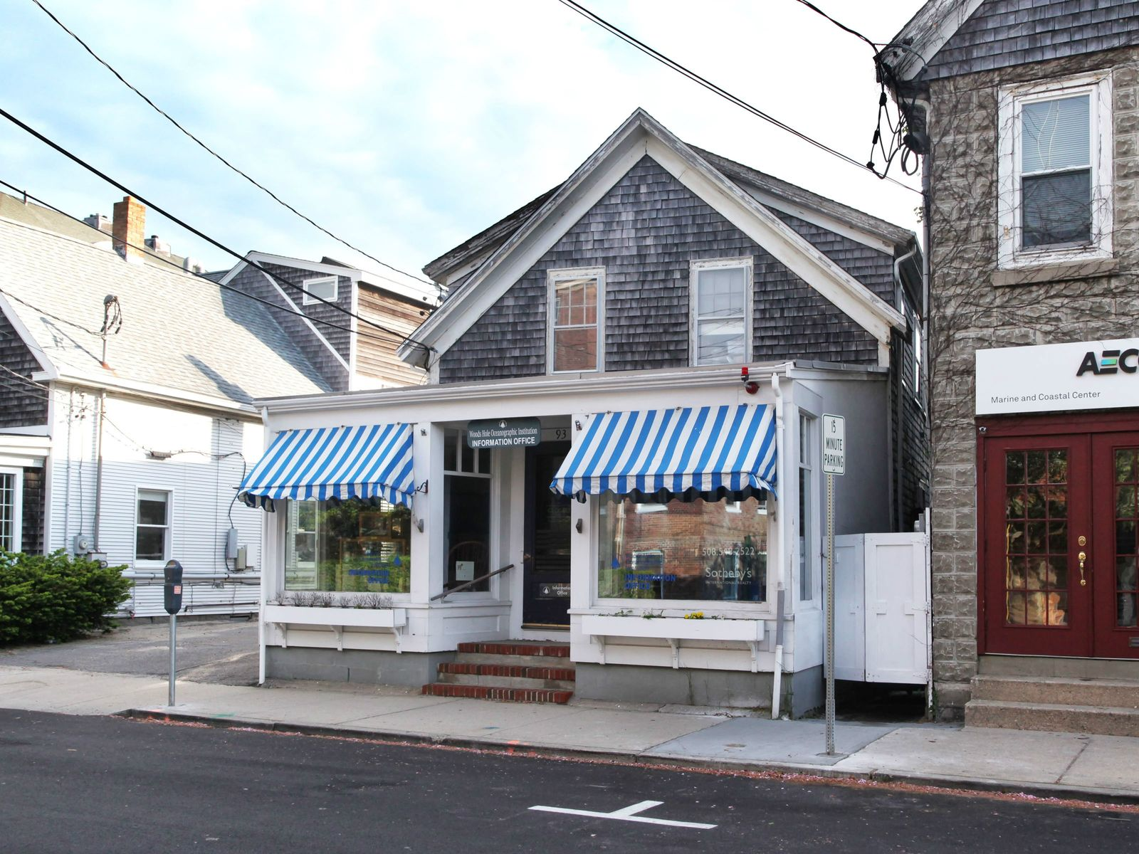 Main Street Woods Hole, Falmouth MA Commercial - Cape Cod Real Estate