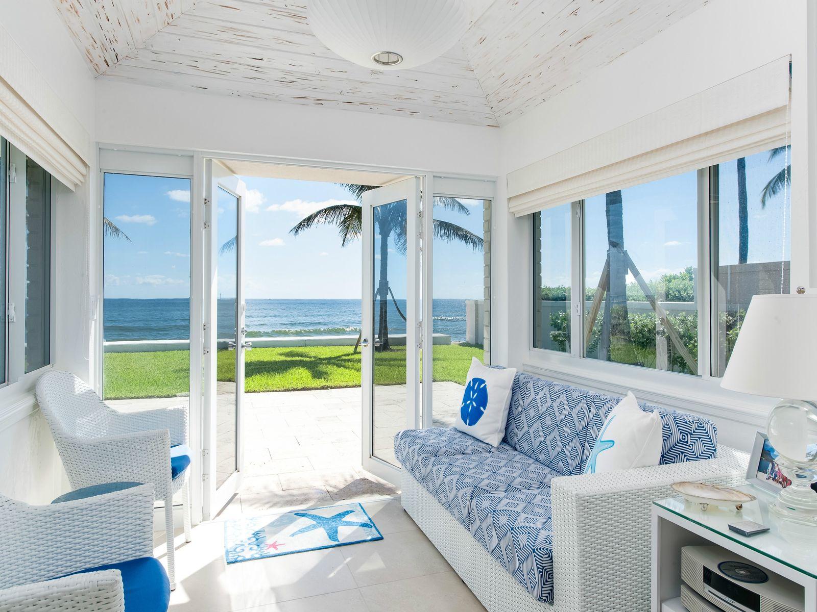 Beach Cabana Interior