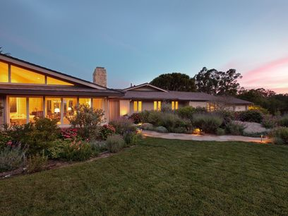 Casual Elegance in Riven Rock, Montecito CA Single Family Home - Santa Barbara Real Estate