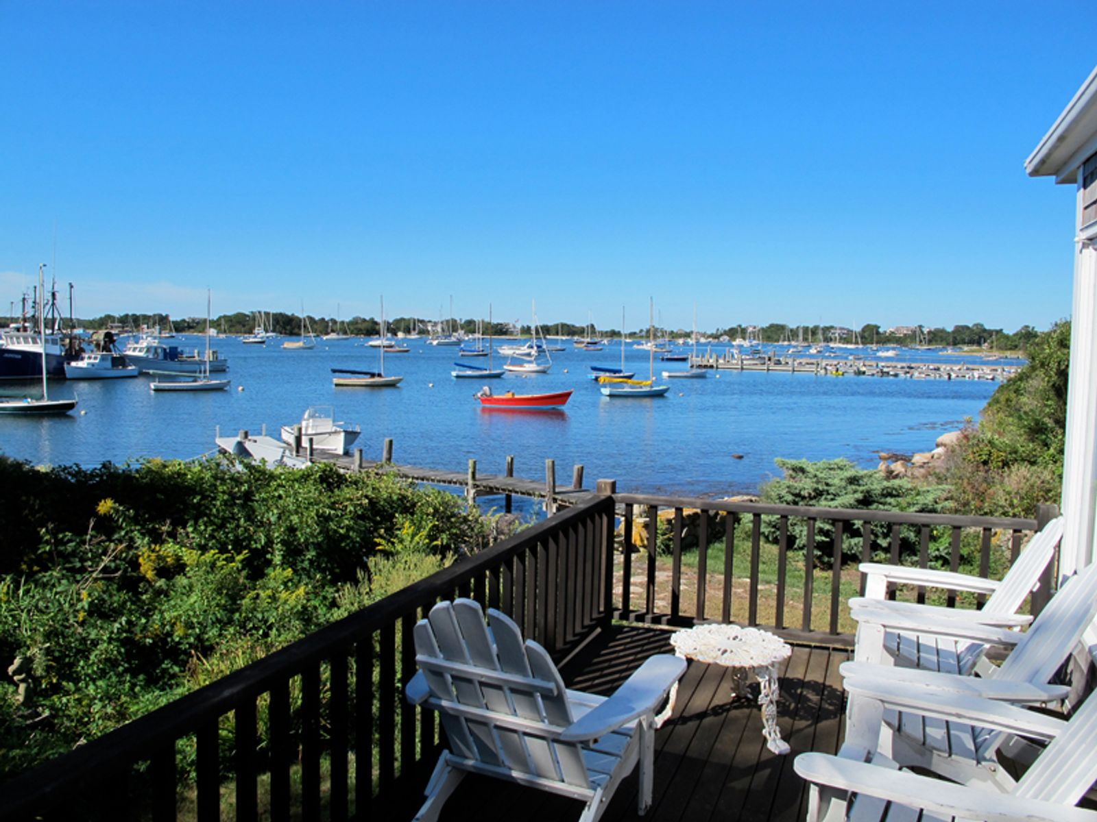 Woods Hole Village on Great Harbor
