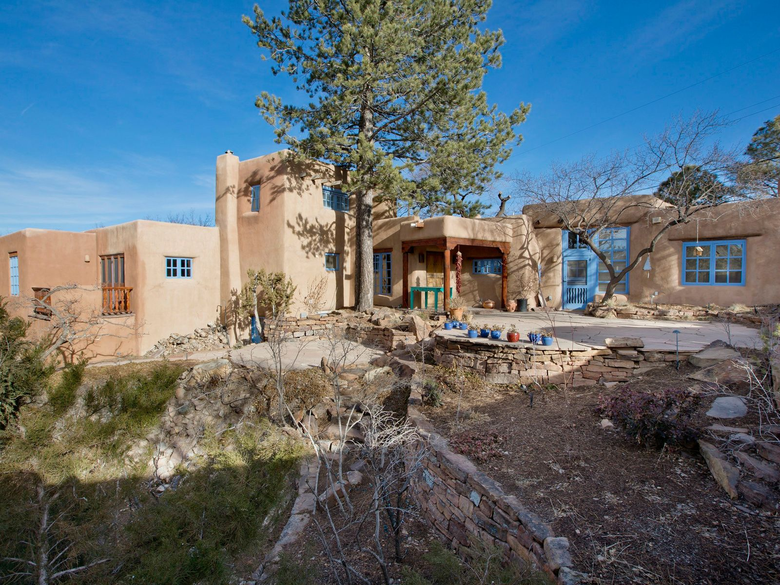 586 Camino Del Monte Sol, Santa Fe NM Single Family Home - Santa Fe Real Estate