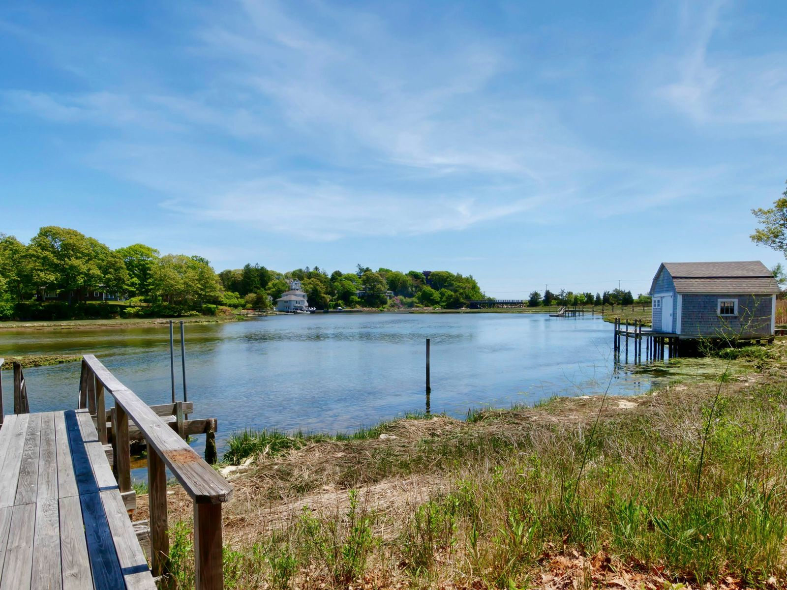 Waterfront with Dock, Osterville MA Single Family Home - Cape Cod Real Estate