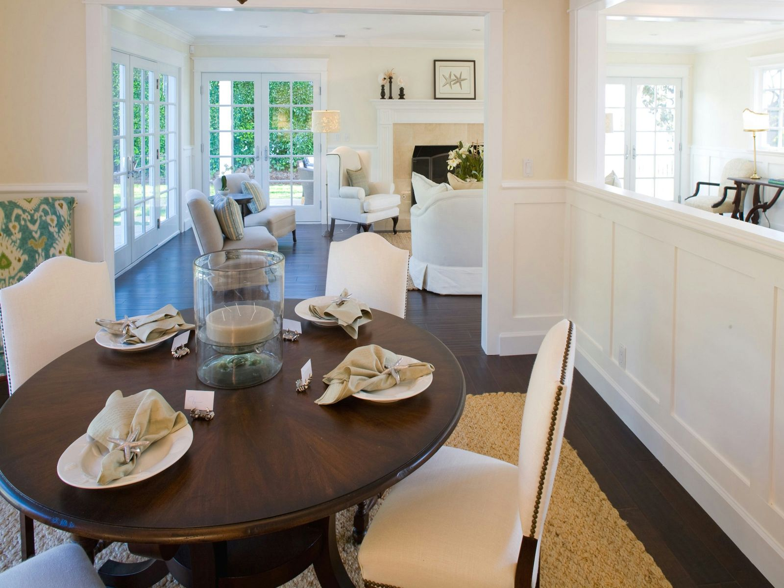 Tastefully Rebuilt Traditional Home