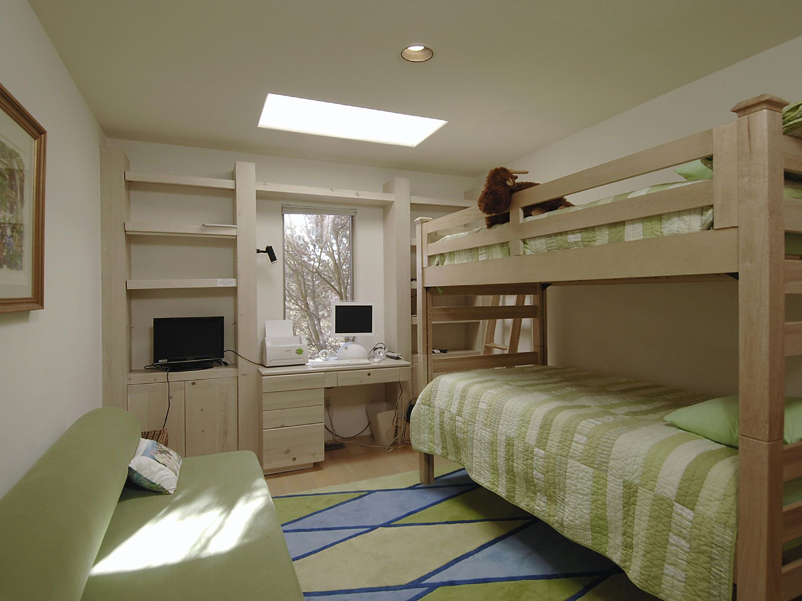 Guest Bedroom with Private Deck