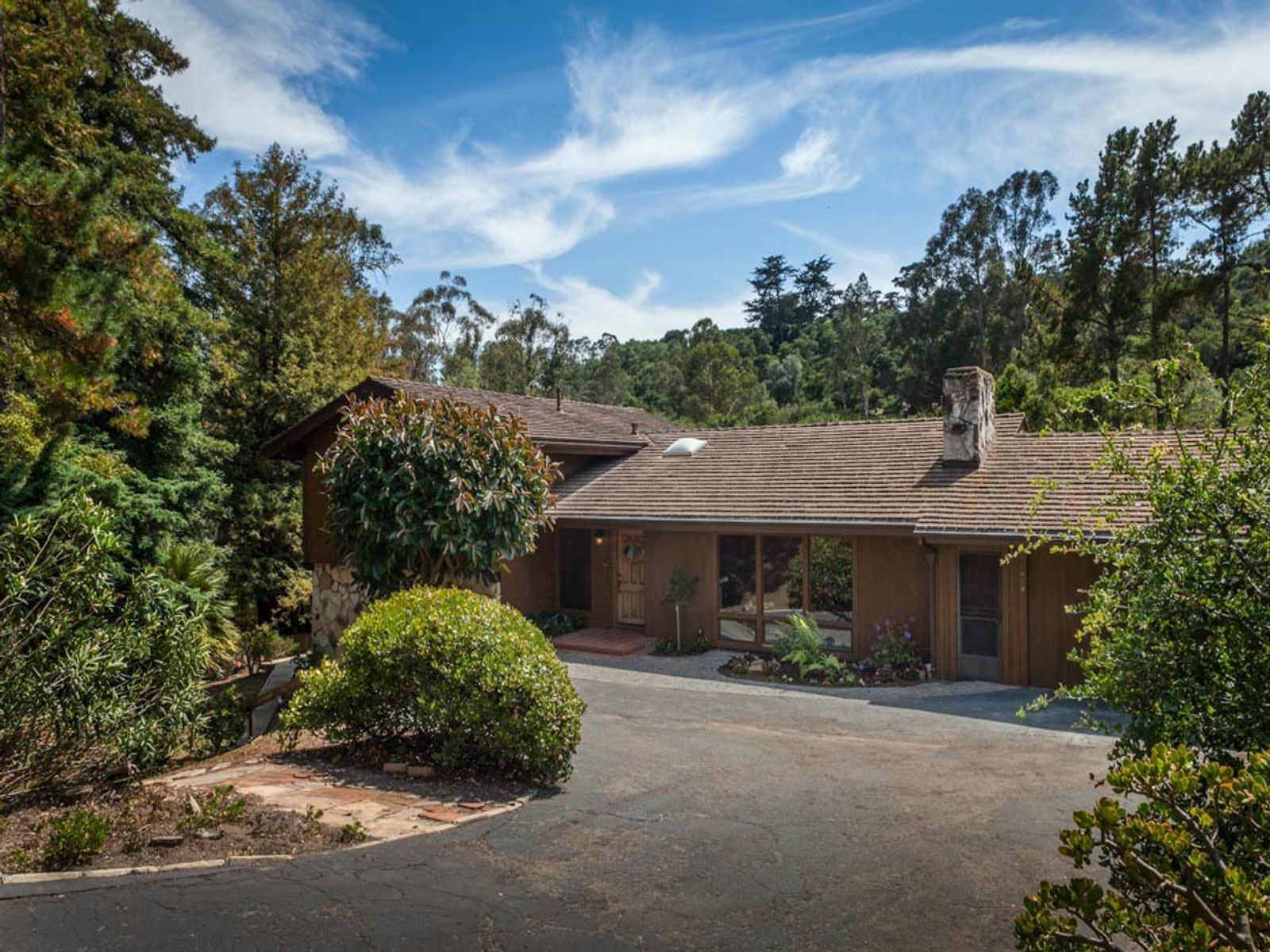 Rustic Woodland Setting, Santa Barbara CA Single Family Home - Santa Barbara Real Estate