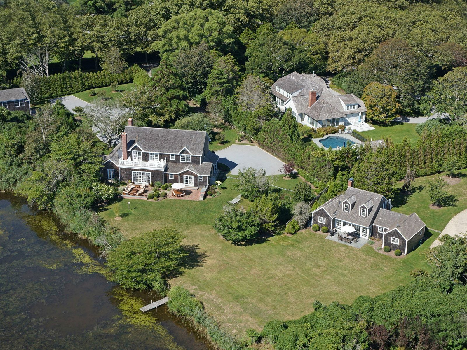 Dream Compound with Access to Main Beach, East Hampton NY Multiple Residences - Hamptons Real Estate