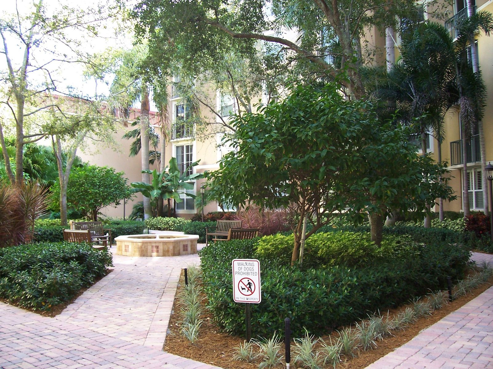 Courtyards in CityPlace