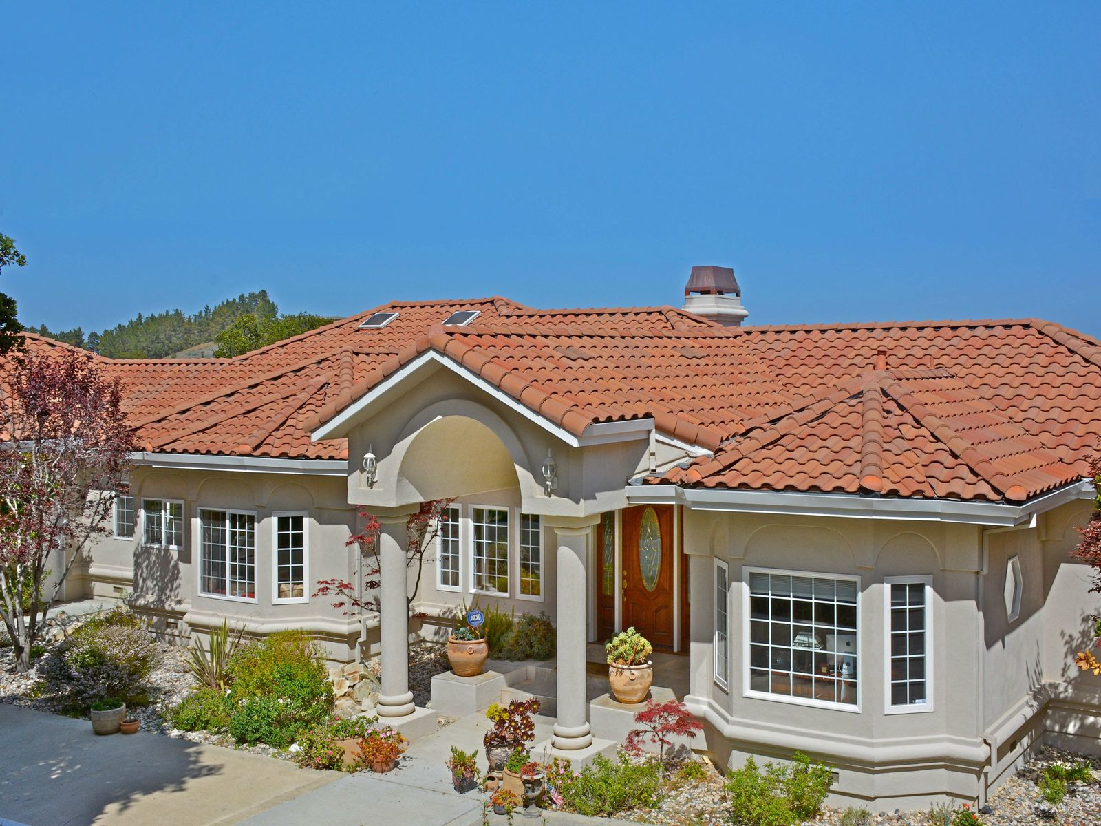 A Mediterranean Classic, Carmel Valley CA Single Family Home - Monterey Real Estate
