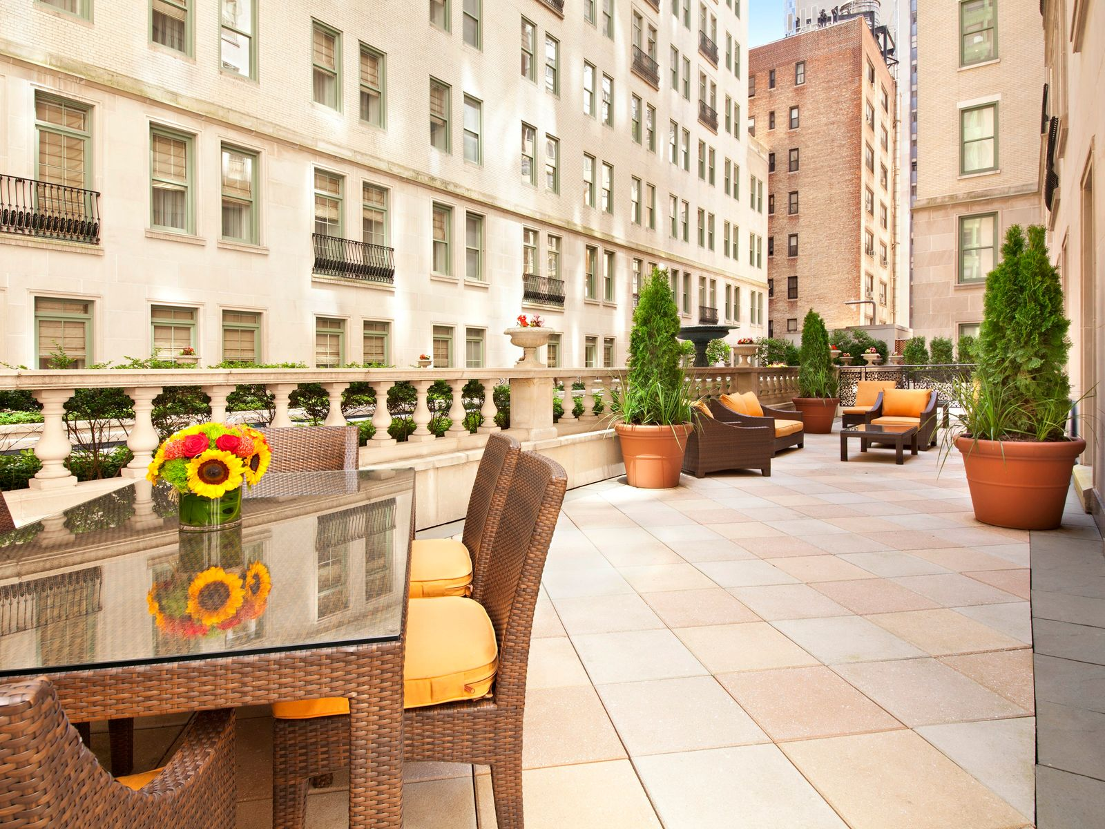 The Plaza with Outdoor Space, New York NY Condominium - New York City Real Estate