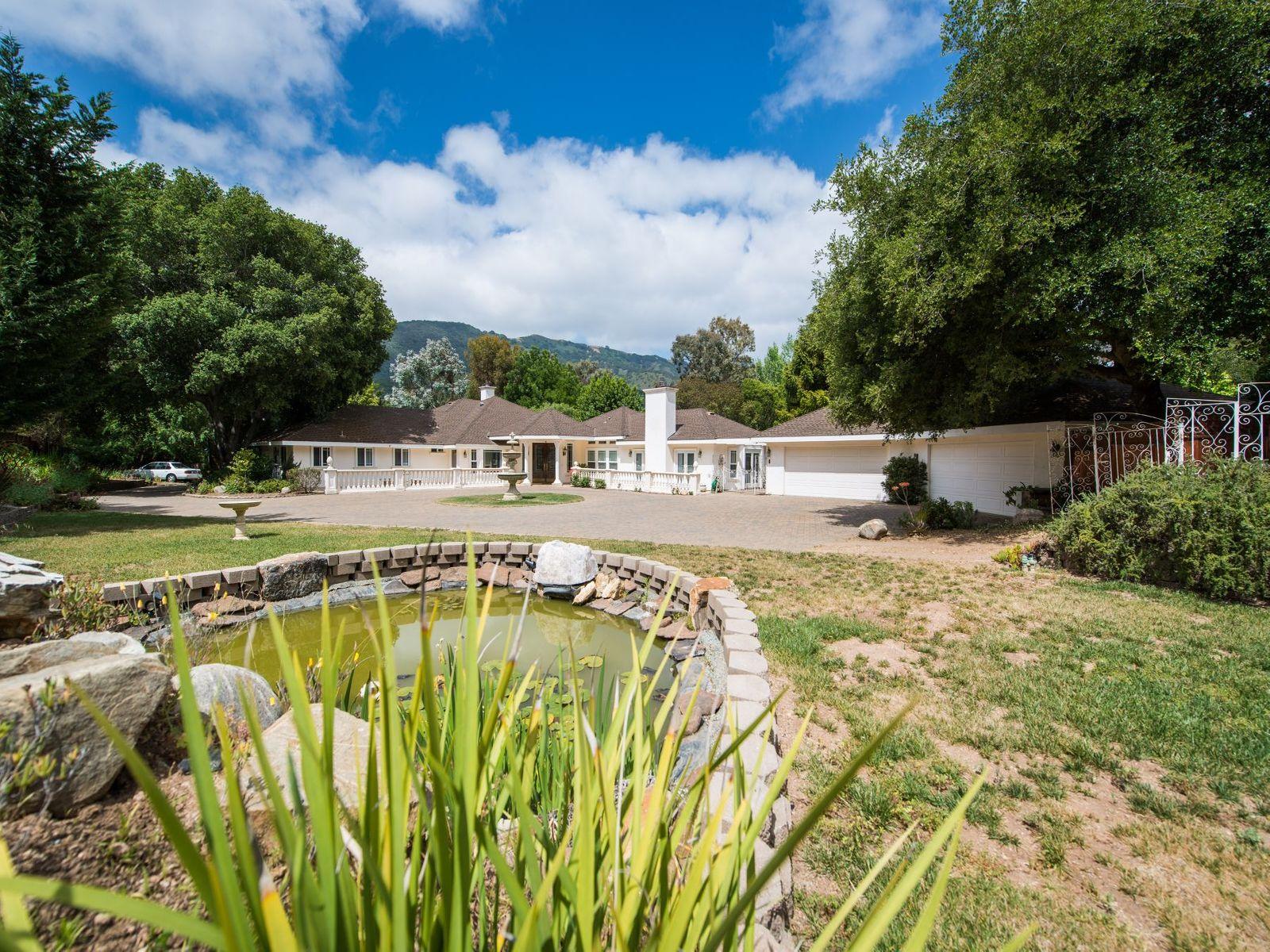 Formal Carmel Valley Estate