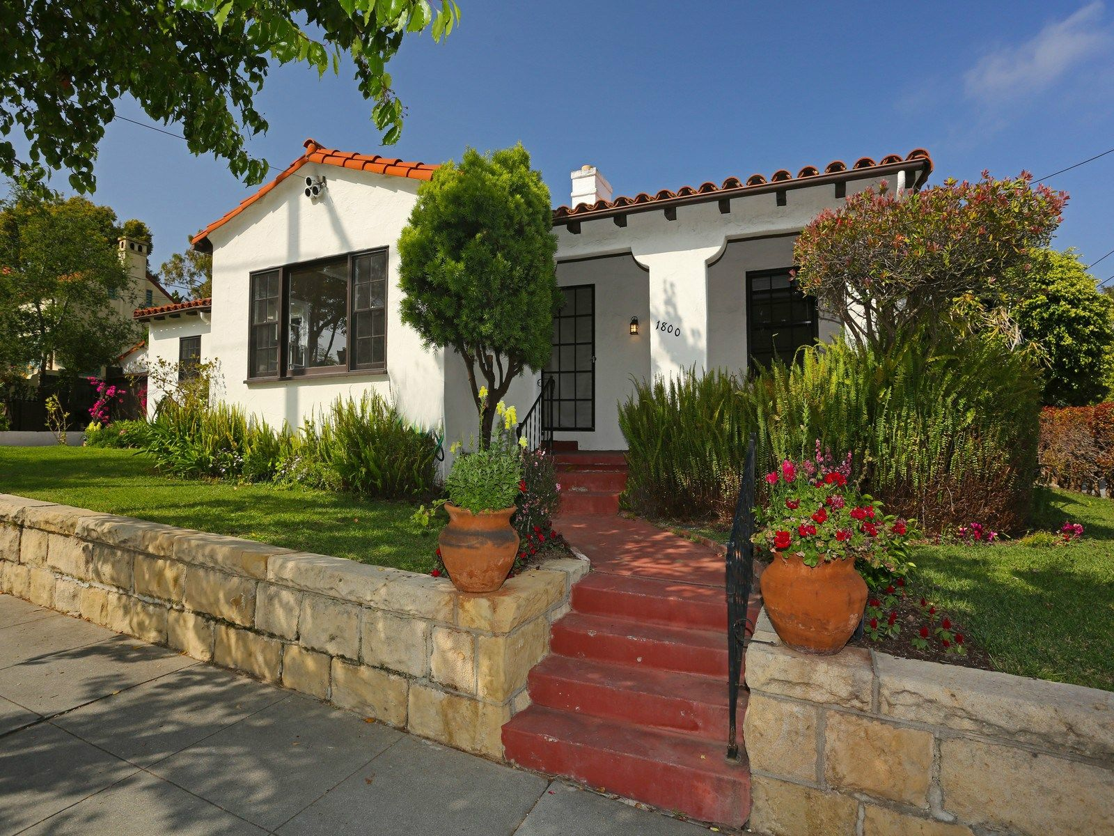 Upper East Spanish-Style Home, Santa Barbara CA Single Family Home - Santa Barbara Real Estate