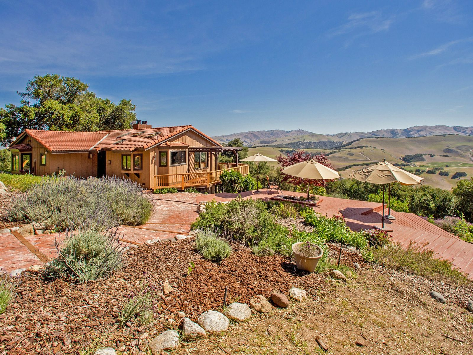 17.7 Acres, Ranch Style Home With Views