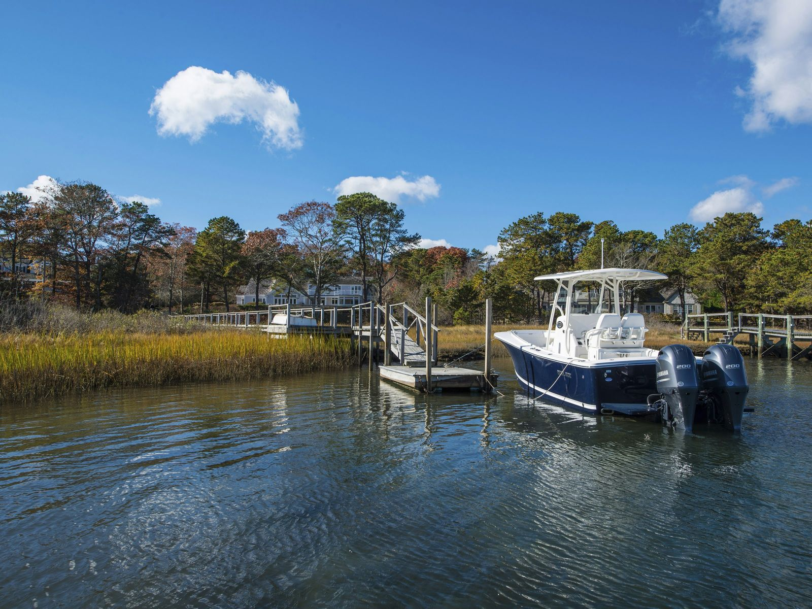 Oyster Harbors Waterfront with Dock, Osterville MA Single Family Home - Cape Cod Real Estate