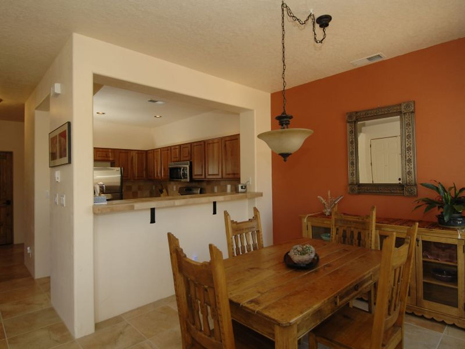 Formal Dining Room and Kitchen