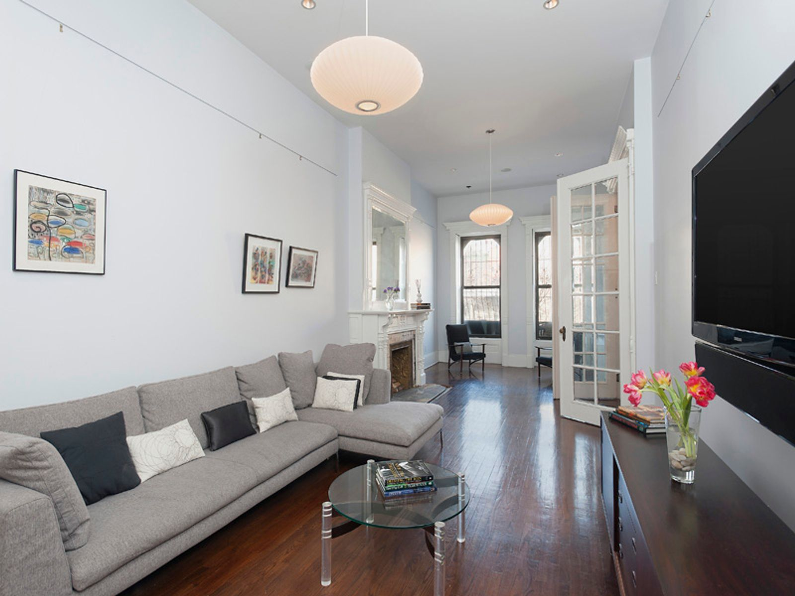 Spectacular 20+/- Wide Mt Morris TH, New York NY Townhouse - New York City Real Estate