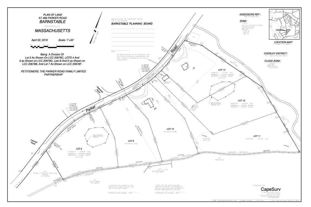 486 Parker Road, Lot 12 Osterville, MA 02655