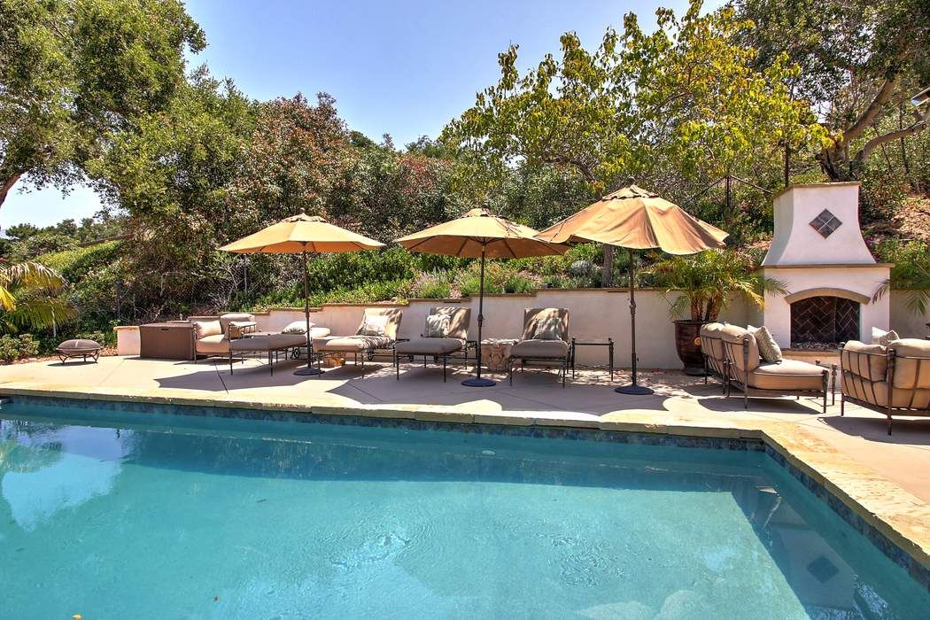 Hope Ranch Gem -  Pool & Mountain Views