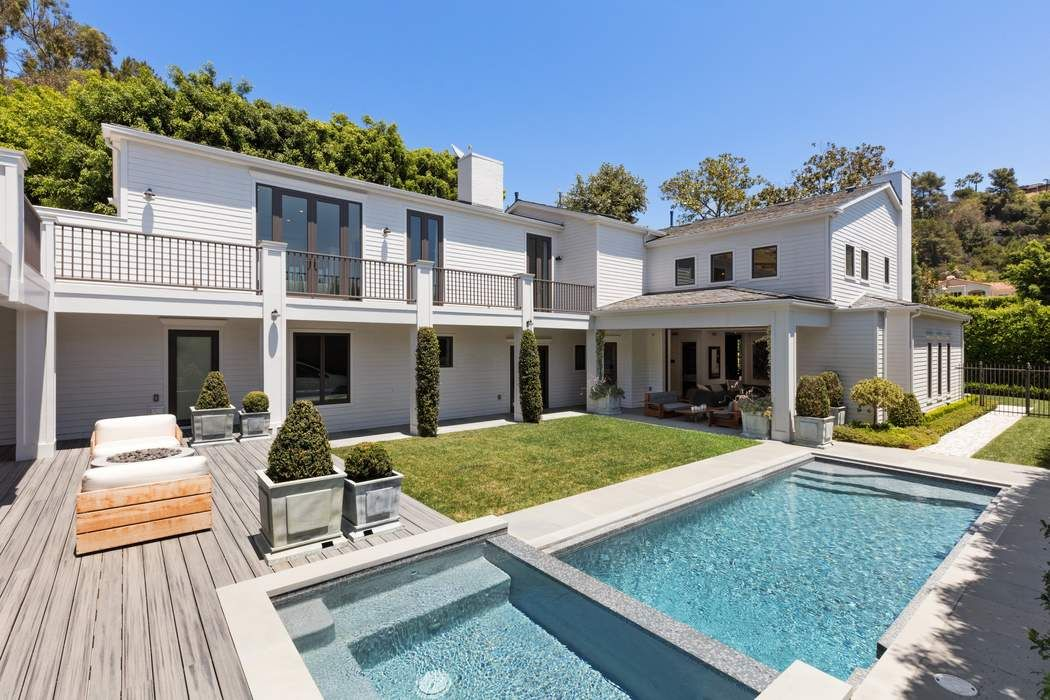 Modern east coast traditional los angeles ca 90069 - 8 bedroom homes for sale in los angeles ...