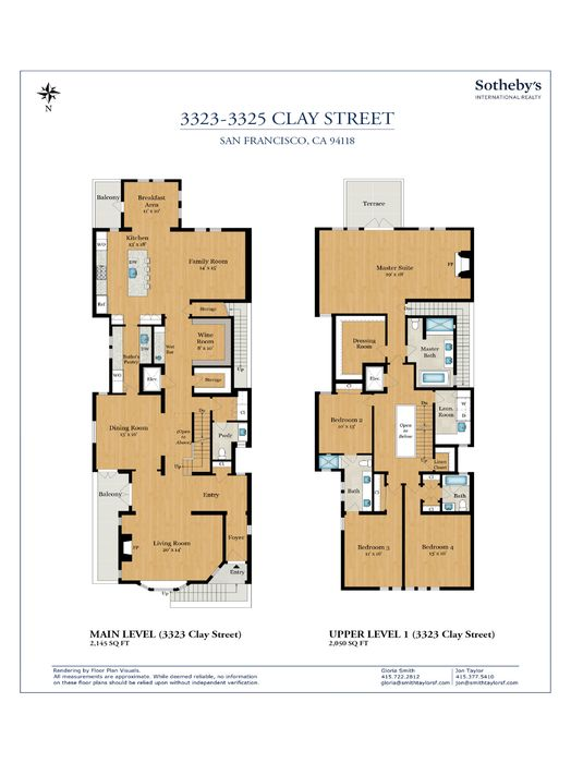 3323-3325 Clay St San Francisco, CA 94118