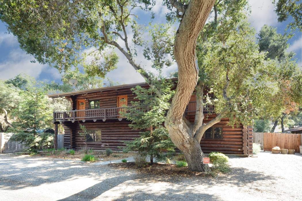 Authentic Log Cabin on the Carmel River
