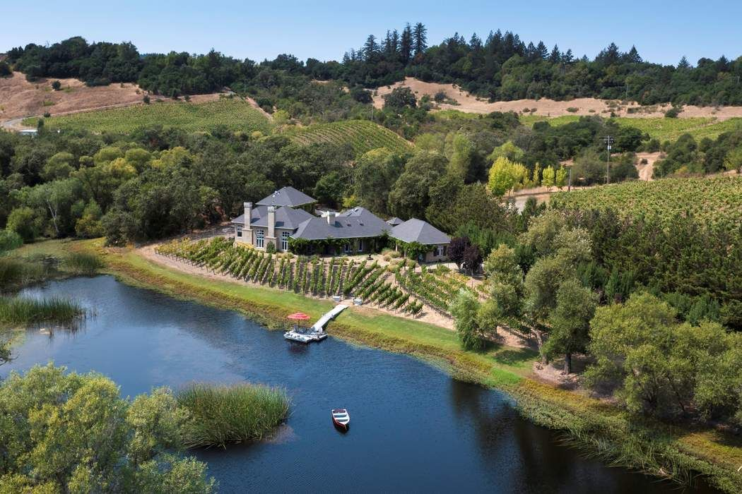 Wine Country Lakeside Estate