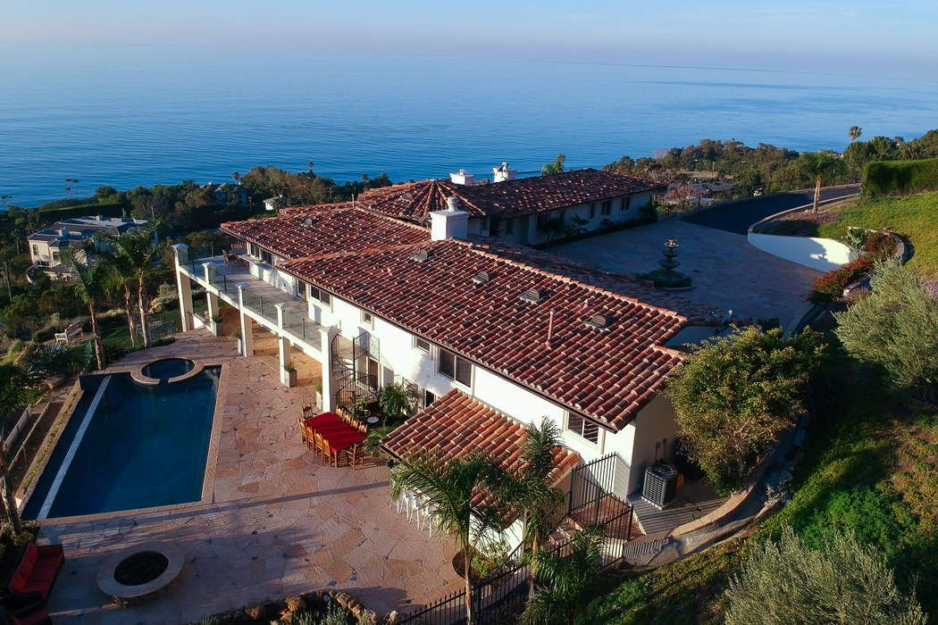 Stunning ocean view Malibu estate