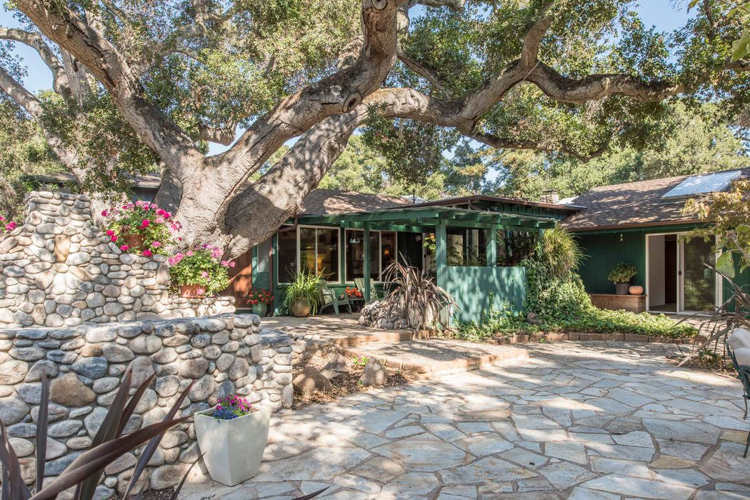 Private, charming  Carmel Valley home.