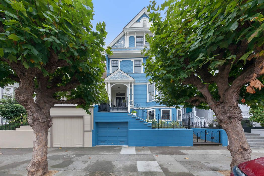 Pacific Heights Queen Anne Victorian