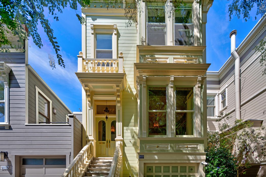 Stately Lower Pacific Heights Victorian San Francisco, CA 94115